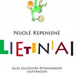 """Nijolės Kepenienės knygos """"Lietiniai"""" viršelis"""