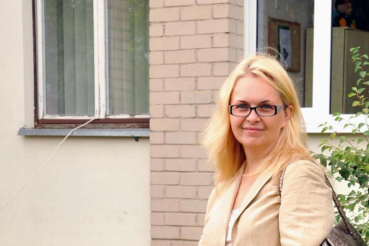 """Interviu su asociacijos """"Kitoks vaikas"""" valdybos pirmininke Daina Valkeriene"""