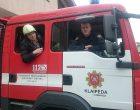 Negalios paliestas klaipėdietis laimę atrado su ugniagesiu