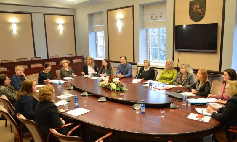 """Asociacijos """"Kitoks vaikas"""" valdybos pirmininkė susitiko su Švietimo ministre Jurgita Petrauskiene"""