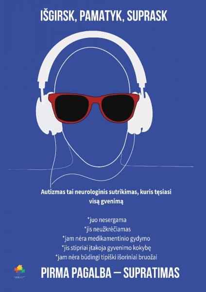 Autizmas – išgirsk, pamatyk, suprask