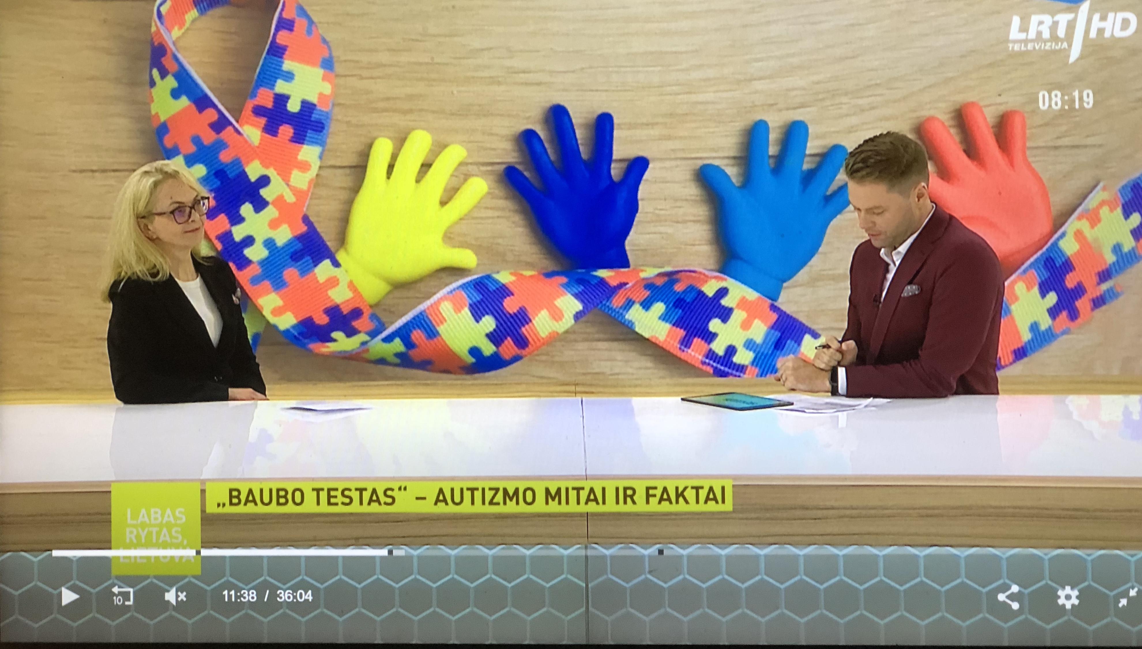 """Baubo testas"" per LRT, ""Labas rytas, Lietuva"""